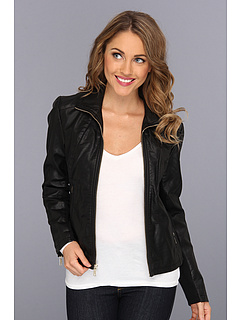 SALE! $59.99 - Save $190 on Kenneth Cole New York Zip Front Scuba Jacket (Black) Apparel - 76.00% OFF $250.00