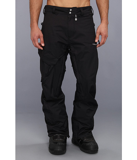 Volcom Snow - Ventral Cargo Pant (Black) Men's Outerwear