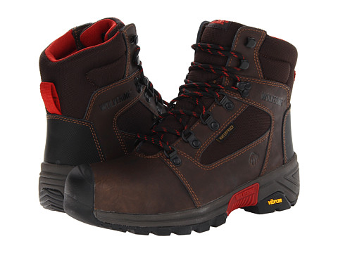 Wolverine - Mansard Comp Toe Mid-Cut Hiker (Dark Brown) Men's Work Boots