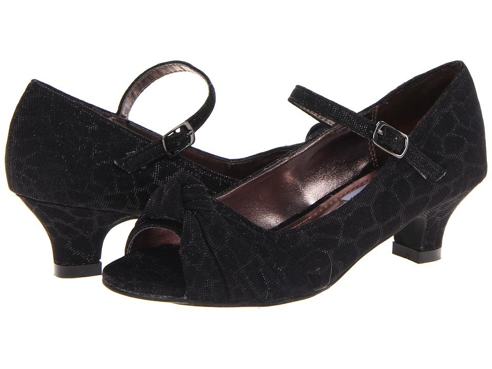 Steve Madden Kids - Bettty (Little Kid/Big Kid) (Black) Girl's Shoes
