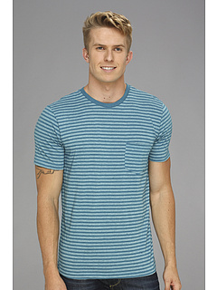 SALE! $16.99 - Save $11 on DC Wizards Crew Knit Shirt (Ocean Stripe) Apparel - 39.32% OFF $28.00