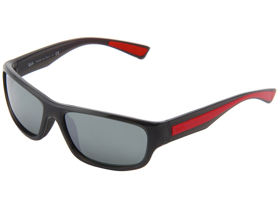 Ray-Ban - RB4196 61mm (Grey) Plastic Frame Fashion Sunglasses