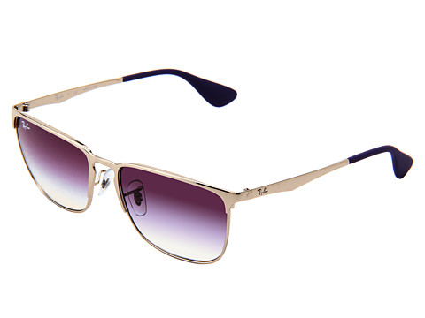 Ray-Ban - RB3508 56mm (Silver Violet Gradient) Metal Frame Fashion Sunglasses