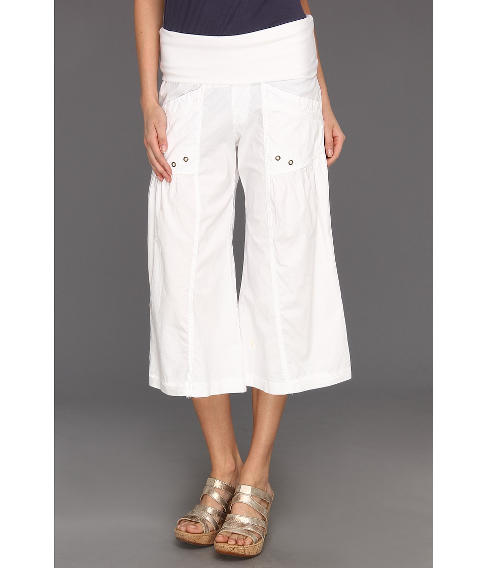 XCVI - Culver Crop (White) Women's Casual Pants