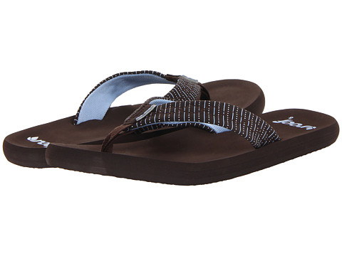 Reef - Seaside (Brown/Brown/Blue) Women