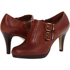 Anne Klein Warrena (Congac Leather) Footwear