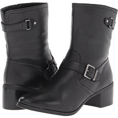 Anne Klein Junta (Black Leather) Footwear