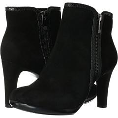 Anne Klein Caelina (Black Suede) Footwear