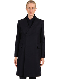 SALE! $1296.99 - Save $432 on Y`s by Yohji Yamamoto K Knit Collar Jacket (Navy) Apparel - 24.99% OFF $1729.00