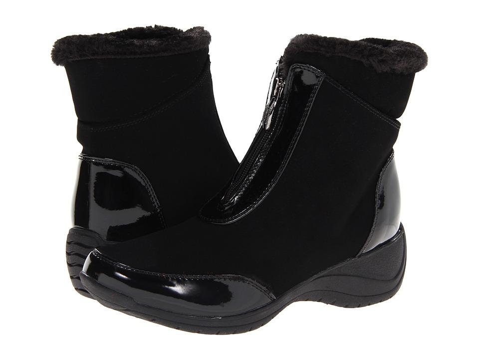 Khombu - Lily Zip (Black Patent) Women's Boots