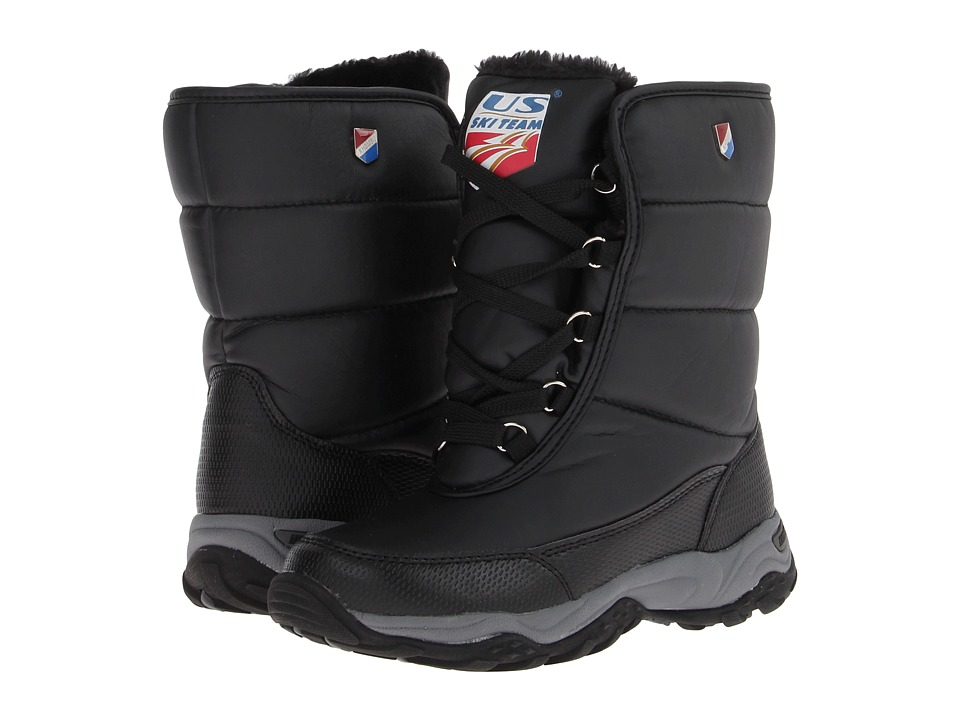 Khombu - Ski Team (Black) Women's Boots