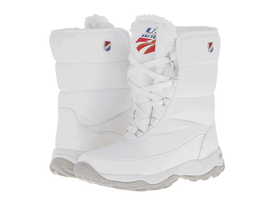 Khombu - Ski Team (White) Women's Boots