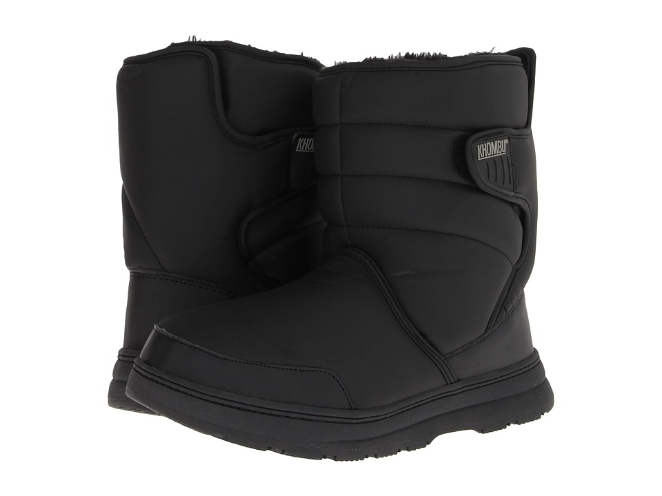 Khombu - Wanderer (Black) Men's Boots