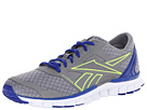 Reebok - RealFlex Speed 2.0 (Flat Grey/Blue Move/Neon Yellow/White)