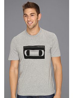 SALE! $14.99 - Save $29 on French Connection VHS Tape Tee (Grey Melange) Apparel - 65.93% OFF $44.00