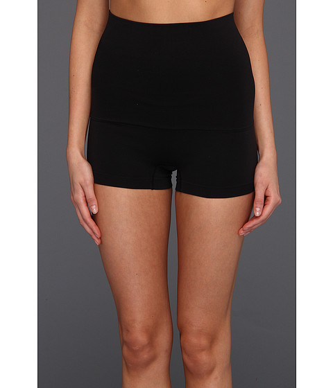 Maidenform - Control It Slim Waisters Hi - Waist Boyshort 12555 (Black) Women's Underwear