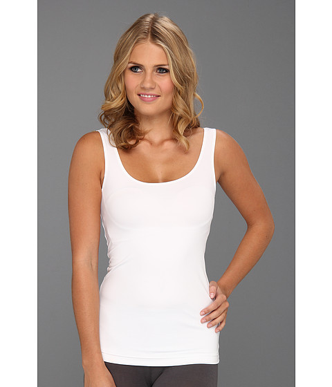 Flexees by Maidenform - Fat Free Dressing Tailored Tank - 4266 (White) Women's Underwear