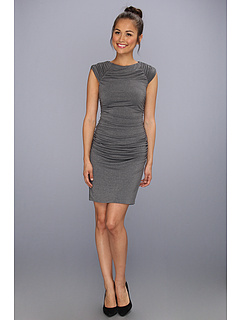 SALE! $59.99 - Save $140 on Susana Monaco Ashley Dress (Gravel) Apparel - 70.00% OFF $200.00