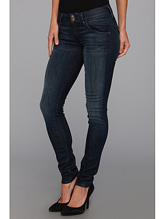SALE! $128.7 - Save $69 on Hudson Collin Mid Rise Skinny in Siouxie (Siouxie) Apparel - 35.00% OFF $198.00