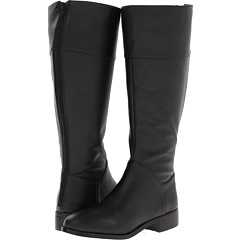 Fitzwell Lee Tall and Wide Calf Boot (Black Calf) Footwear