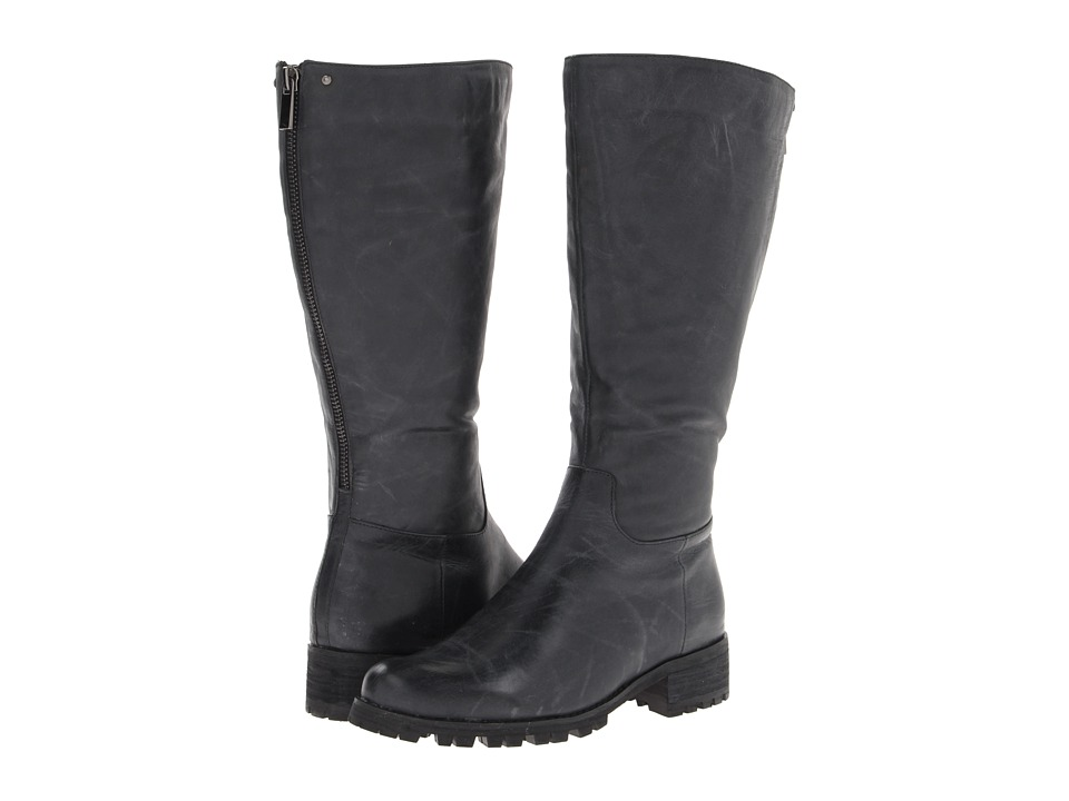 Type Z - Tammy Convertible Wide Calf (Black Antique Calf) Women's Wide Shaft Boots