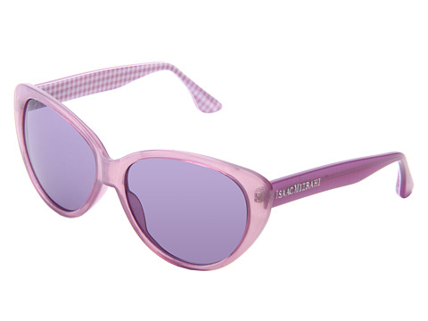Isaac Mizrahi New York - IM 13 75 (Lilac) Plastic Frame Fashion Sunglasses