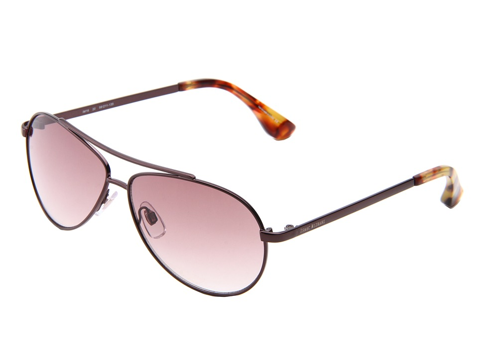 Isaac Mizrahi New York - IM 16 20 (Bronze) Metal Frame Fashion Sunglasses