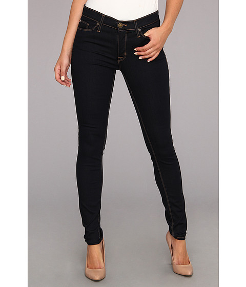 Hudson - Nico Mid-Rise Super Skinny in Storm (Storm) Women's Jeans