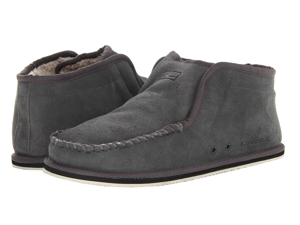 O'Neill - Surf Turkey Suede (Grey) Men's Slippers