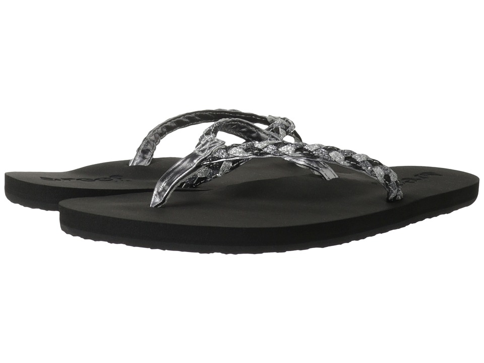 Reef - Twisted Stars (Black/Pewter) Women's Shoes