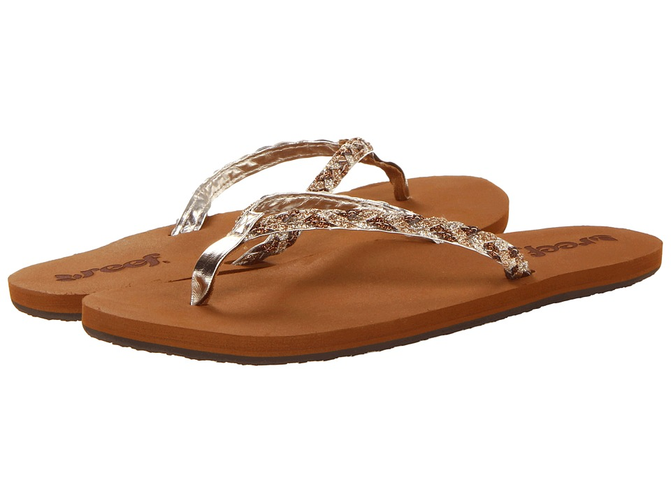 Reef - Twisted Stars (Tan/Champagne) Women's Shoes