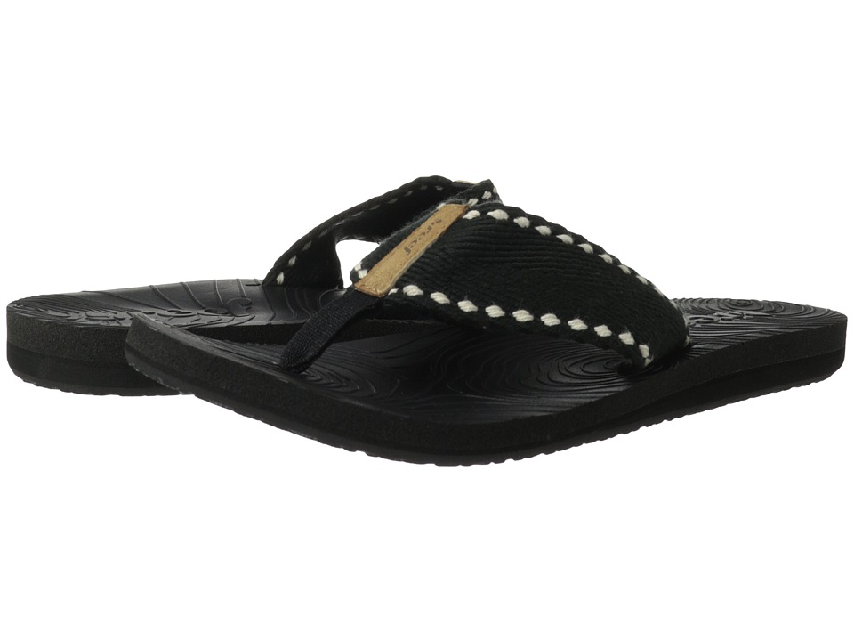Reef - Zen Wonder (Black/Black) Women's Sandals