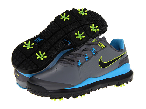 b4e116133b3 ... Cool Gray Vivid Blue  UPC 884498853450 product image for Nike Golf TW   14 (CL Grey Black  ...
