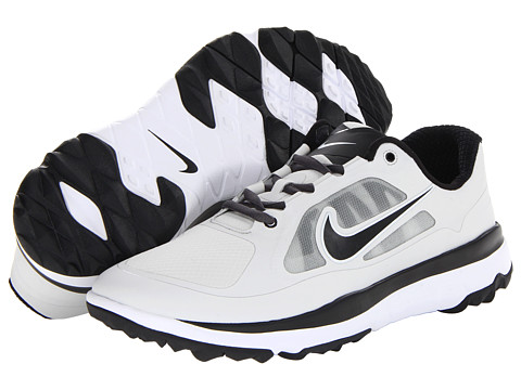 Nike Golf - FI Impact (Light BS Grey/Black/Light BS Grey/Medium BS Grey) Men's Golf Shoes