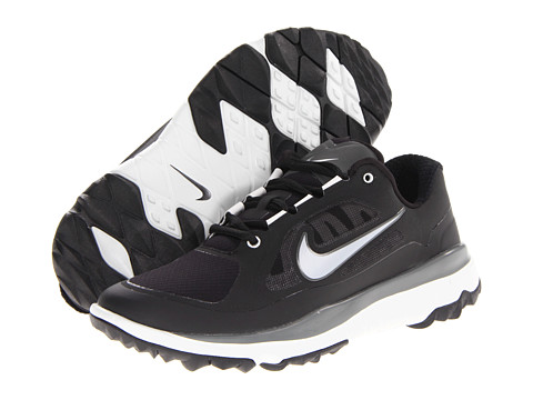 Nike Golf - FI Impact (Black/Metallic Silver/Light BS Grey/Dark BS Grey) Men's Golf Shoes
