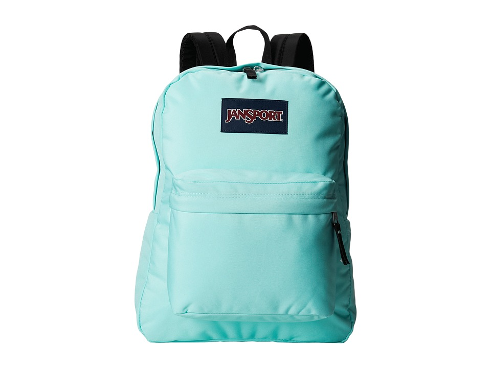 JanSport - SuperBreak (Aqua Dash) Backpack Bags