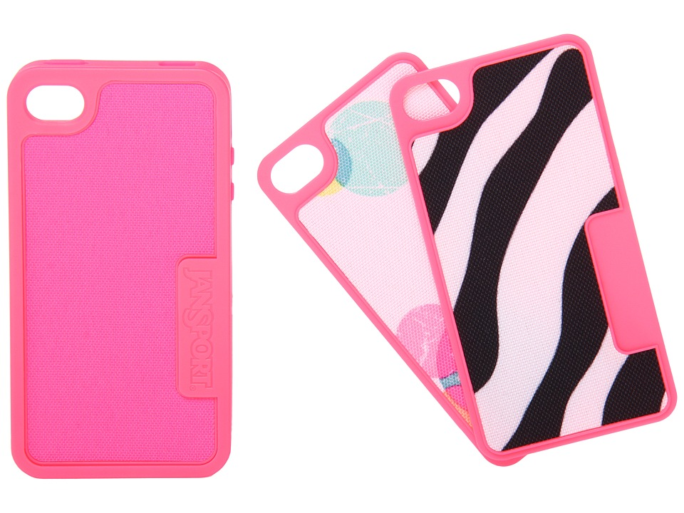 JanSport - Switchskin For iPhone 4 (Fluorescent Pink) Cell Phone Case