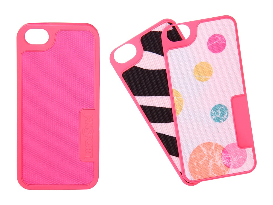 JanSport - Switchskin For iPhone 5 (Fluorescent Pink) Cell Phone Case