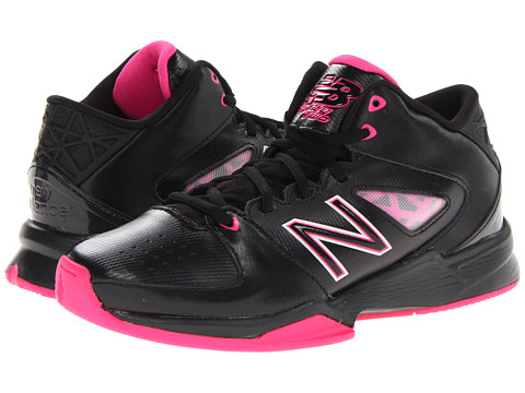 New Balance Kids - 82 (Toddler/Little Kid/Big Kid) (Black/Pink) Girls Shoes