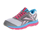 Reebok - Reebok Dual Turbo Fire (White/Flat Grey/Optimal Pink/Blue Blink)