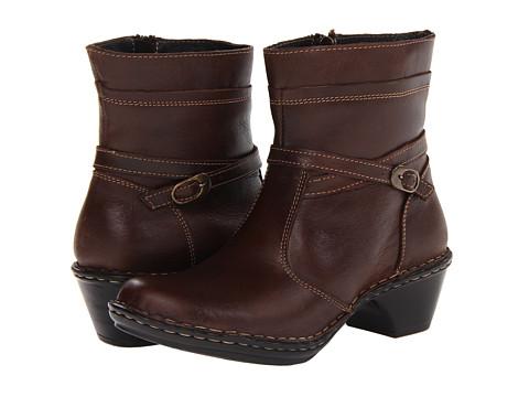 Lassen - Jenny (Brown) Women's Zip Boots