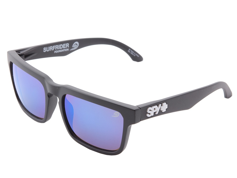 Spy Optic - Helm (Bronze W/Light Blue Spectra) Fashion Sunglasses