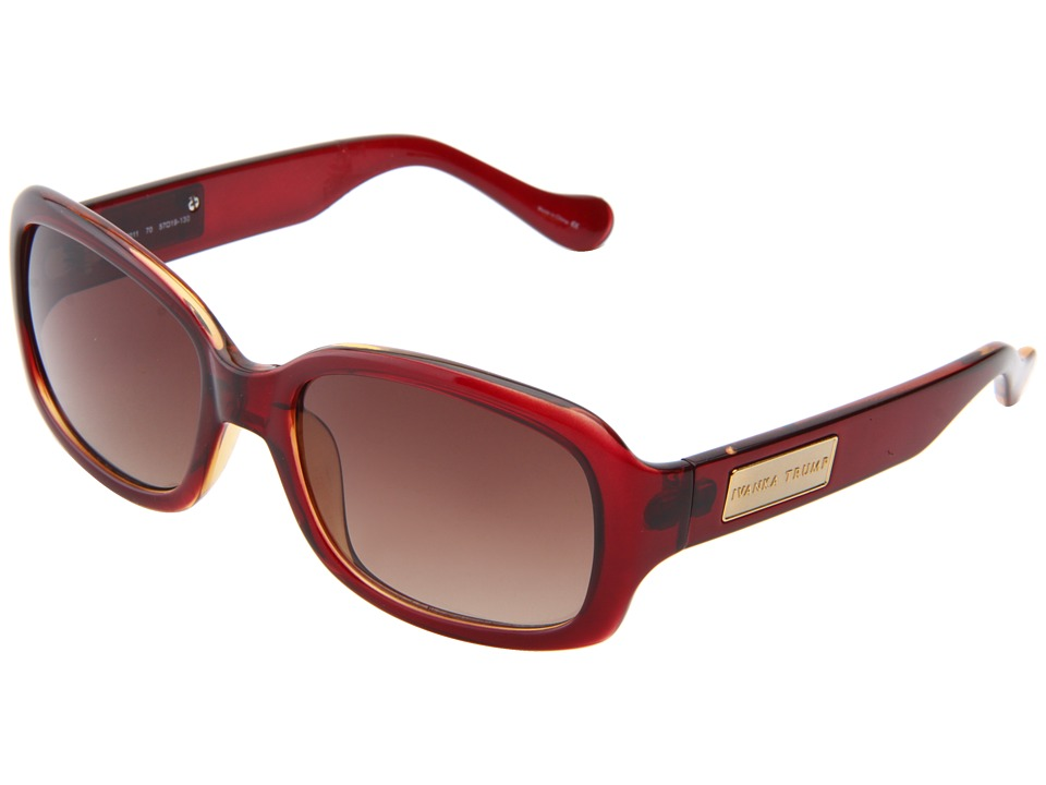 Ivanka Trump - IT 011 (Burgundy) Fashion Sunglasses