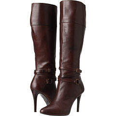 LAUREN by Ralph Lauren Kyla (Dark Brown Vachetta Milled) Footwear