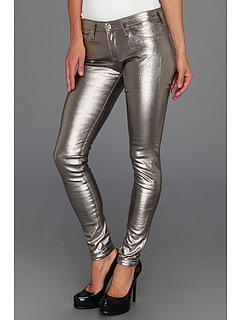 SALE! $71.99 - Save $163 on AG Adriano Goldschmied The Absolute Legging in Metallic Silver (Metallic Silver) Apparel - 69.37% OFF $235.00