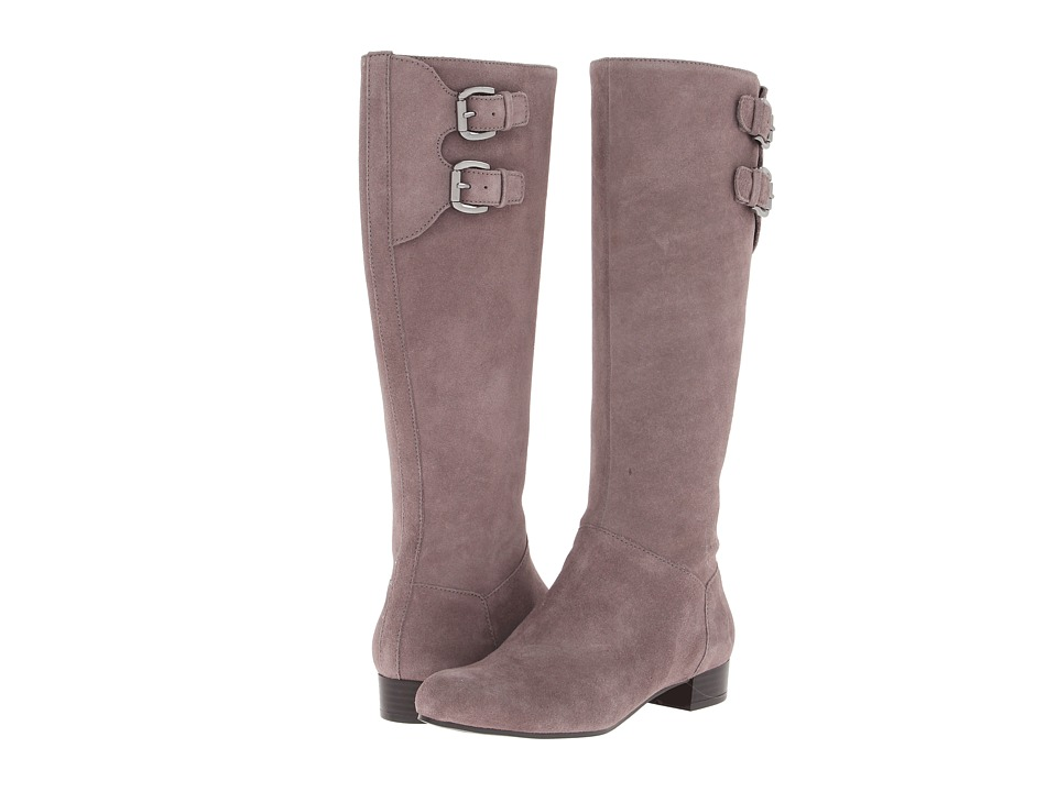 Enzo Angiolini - Maro (Taupe Suede) Women's Zip Boots