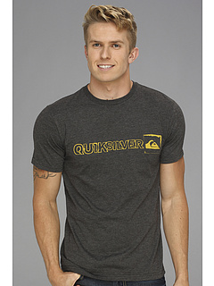 SALE! $18.1 - Save $5 on Quiksilver South Paw MT4M Tee (Charcoal Heather) Apparel - 21.30% OFF $23.00