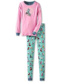 SALE! $16.99 - Save $18 on Hatley Kids Pj Set (App) (Toddler Little Kids Big Kids) (Pink) Apparel - 51.44% OFF $34.99