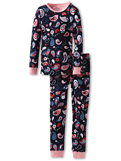 SALE! $16.99 - Save $18 on Hatley Kids Girls` Pj Set (Ovl) (Toddler Little Kids Big Kids) (Paisley Birds) Apparel - 51.44% OFF $34.99