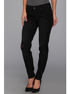 SALE! $39.6 - Save $59 on Lucky Brand Charlie Skinny Black Destructed 29 in Secession (Secession) Apparel - 60.00% OFF $99.00